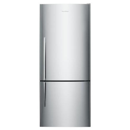 Fisher & Paykel E442BRX4 24100  68cm Wide Curved Door Right Hand Hinge Freestanding Fridge Freezer - EZKleen Stainless Steel