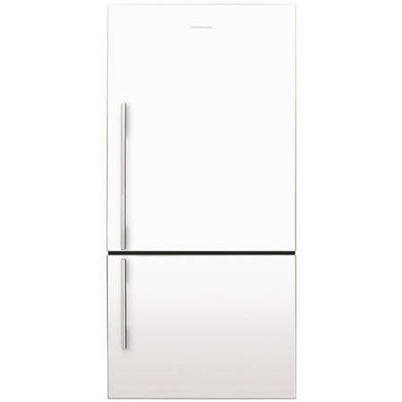 Fisher & Paykel E522BRWFD4 24466 - 79cm Wide R H Hinge Designer Flat Door - Gloss White