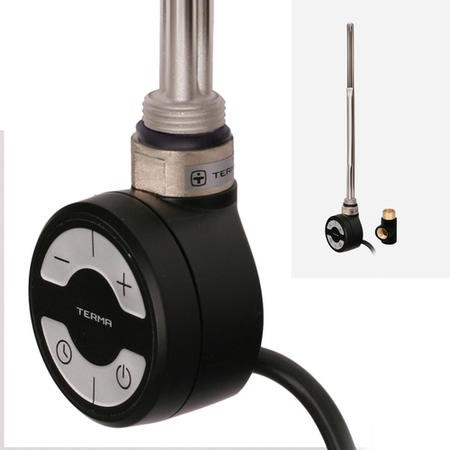 Terma MOA 300W Heating Element Black + T-Piece