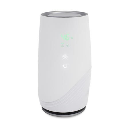 Ultra Quiet HEPA and plasma air purifier with anti-bacterial technology