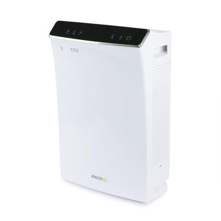 PM2.5 Antiviral Smart WiFi Alexa Air Purifier with Dual HEPA Carbon Photocatalytic Filters - Great for Homes and offices up to 140 sqm