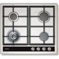 SIEMENS EC645HC90E iQ500 Four Burner Gas Hob With Cast Iron Pan Stands - Stainless Steel
