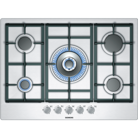 SIEMENS EC715RB90E iQ300 70cm Gas Hob with FSD  in Stainless steel