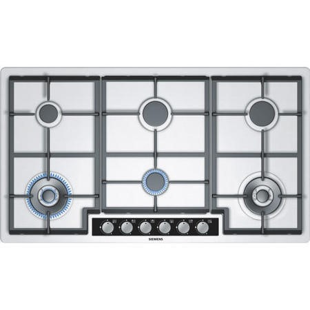 SIEMENS EC945TB91E iQ500 Extra Wide 90cm Gas Hob in Stainless steel