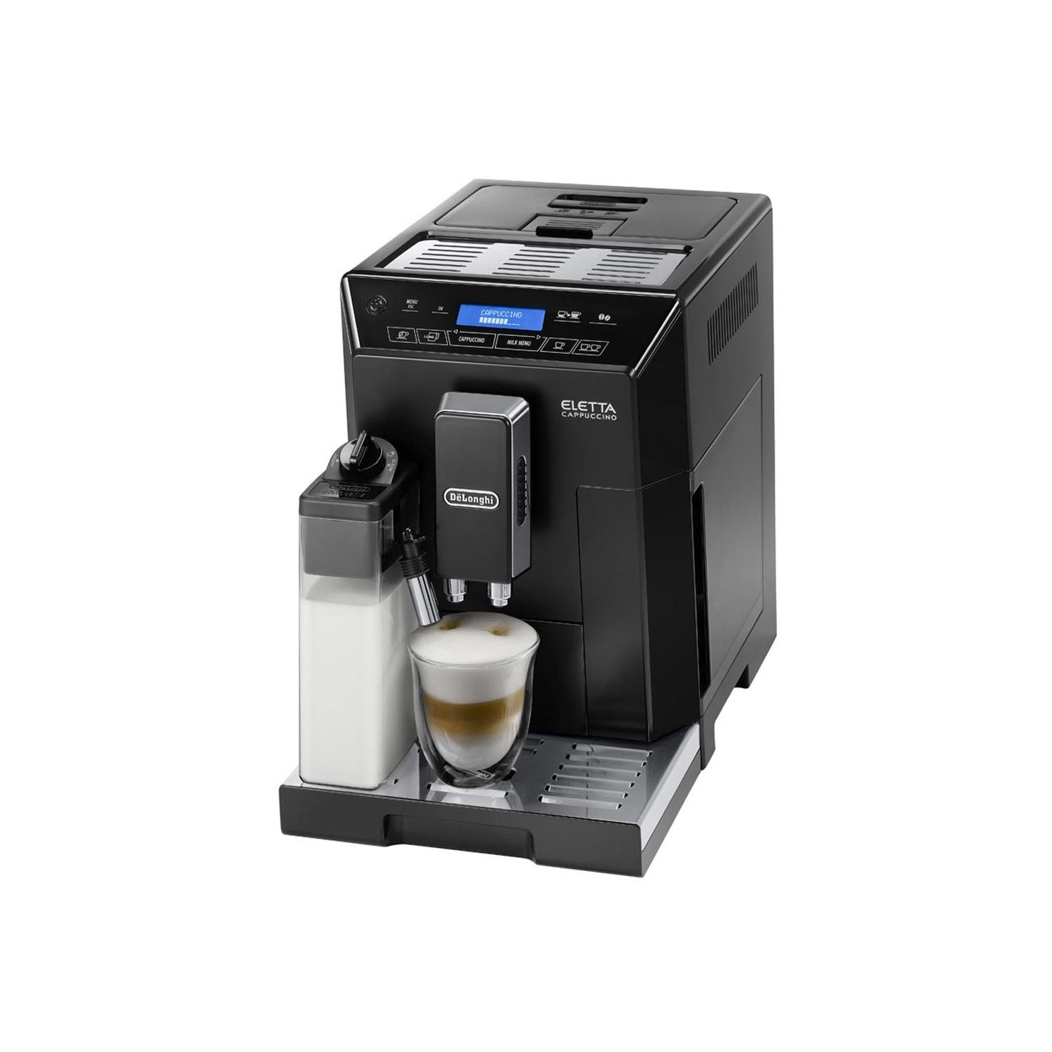 Delonghi Ecam44660b Eletta Bean To Cup Automatic Coffee Machine With Grinder Frother Black