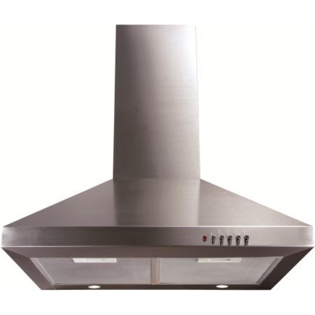 GRADE A1 - CDA ECH61SS Level 1 60cm Wide Chimney Cooker Hood Stainless Steel