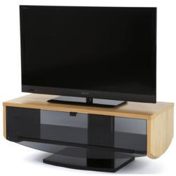 Off The Wall Eclipse 1000 Oak TV Cabinet - Up to 55 Inch