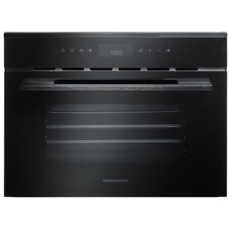 Rangemaster ECL45SCBLBL Eclipse Built-in Compact Steam Oven - Black