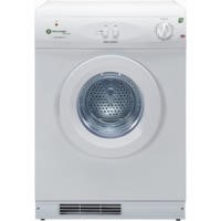 White Knight ECO43AW 7Kg Multi-function Reverse-action Freestanding Vented Gas Tumble Dryer - White