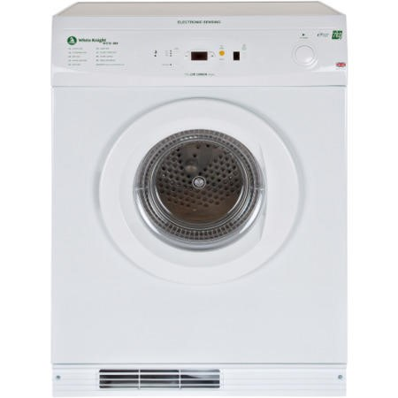 White Knight ECO86A 7kg Freestanding Vented Gas Tumble Dryer White
