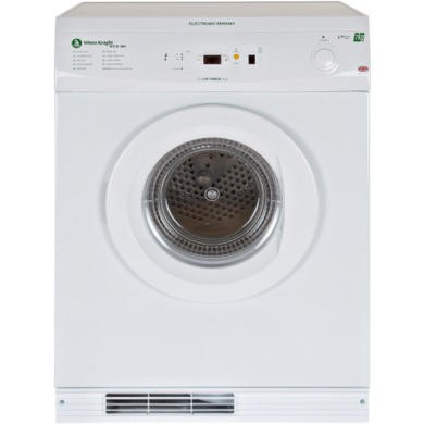 GRADE A1 - White Knight ECO86A 7kg Freestanding Vented Gas Tumble Dryer White