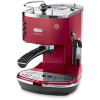 De Longhi ECOM311.R Icona Micalite Espresso Coffee Machine - Red