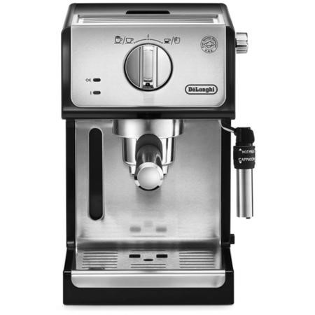 De Longhi ECP35.31 Traditional Pump Coffee Machine In Silver And Black