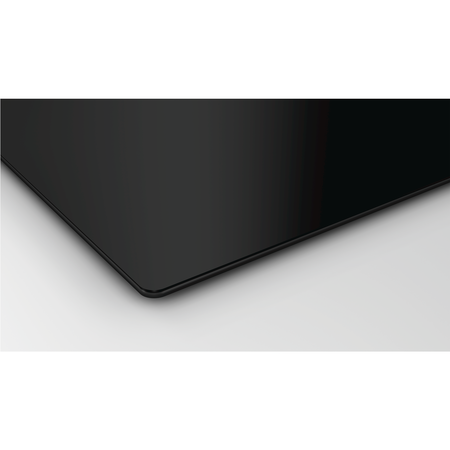 Siemens ED851FS11E iQ500 80cm Wide 4 Zone Induction Hob With Built-in Downdraft Extractor - Black