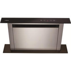 GRADE A1 - CDA EDD61BL 60cm Wide Black Downdraft Extractor