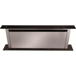 CDA EDD91BL 90cm Wide Black Downdraft Extractor