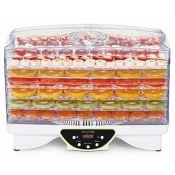 electriQ Maxi Digital Food Dehydrator with Adjustable Temperature and  48 Timer and collapsible trays