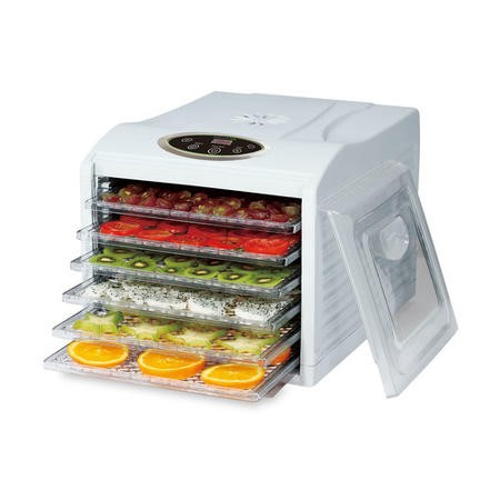 electriQ BPA Free Digital Food Dehydrator with Temperature Control and Timer