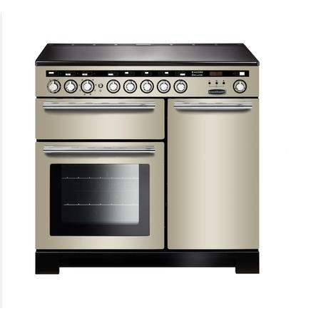Rangemaster EDL100EIIVC Encore Deluxe 100cm Electric Range Cooker With Induction Hob Ivory
