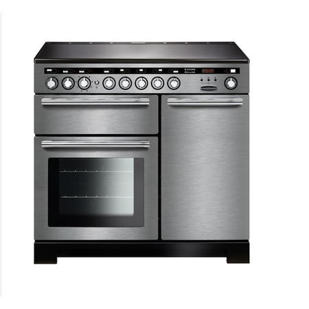 Rangemaster EDL100EISSC Encore Deluxe 100cm Electric Range Cooker With Induction Hob Ss