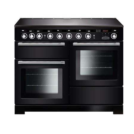 Rangemaster EDL110EIBLC Encore Deluxe 110cm Electric Range Cooker With Induction Hob Black