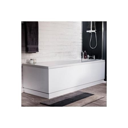 Bath Panel 700mm MDF High Gloss Bath End & Plinth