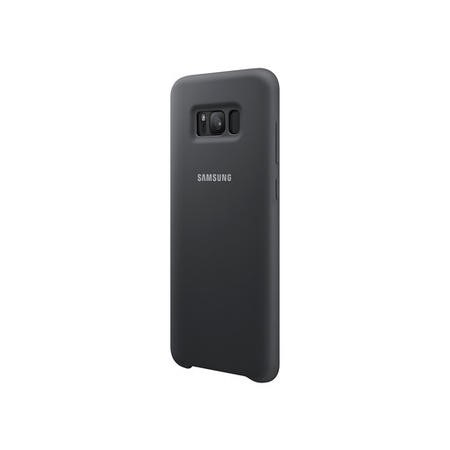 Samsung Silicone Cover for Galaxy S8 Plus Silver/Gray