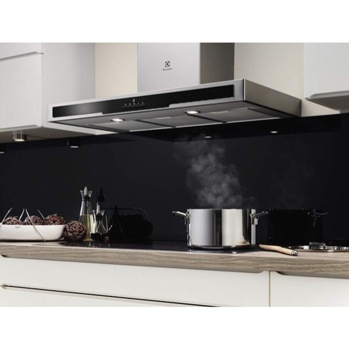 electrolux efb90550dx low profile 90cm chimney cooker hood. Black Bedroom Furniture Sets. Home Design Ideas