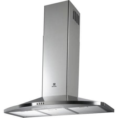 electrolux efc90468ox curved 90cm chimney cooker hood. Black Bedroom Furniture Sets. Home Design Ideas