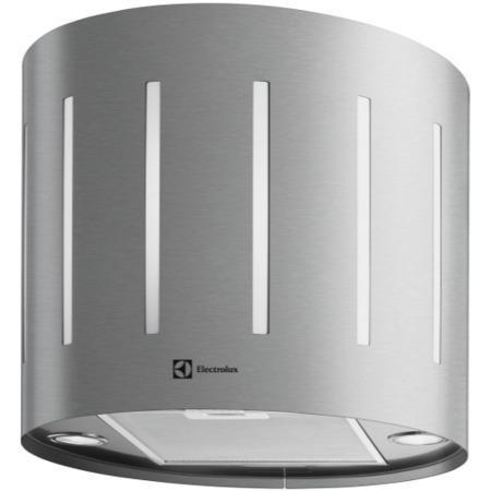 electrolux efl50555ox 49cm round island cooker hood. Black Bedroom Furniture Sets. Home Design Ideas