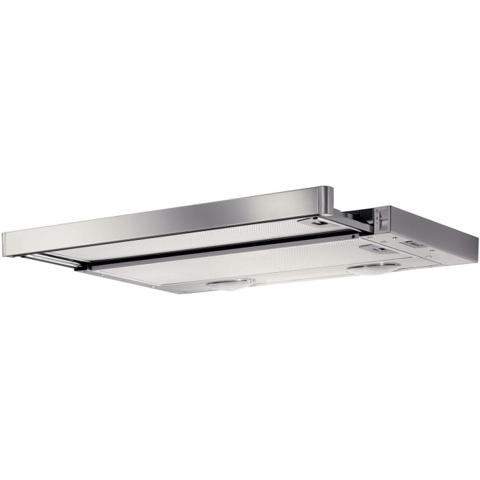 Electrolux Efp6500x 60cm Telescopic Canopy Cooker Hood Stainless Steel