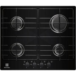 Electrolux EGG6242NOK 58cm Wide Black Four Burner Gas Hob