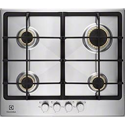 Electrolux EGG6345NOX 60cm Four Burner Gas Hob - Stainless Steel