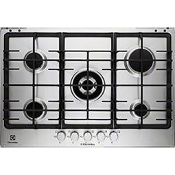 Electrolux EGG7353NOX 75cm Five Burner Gas Hob - Stainless Steel
