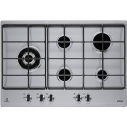 Electrolux EGH7353SXX 75cm Five Burner Gas Hob Stainless Steel With Cast Iron Pan Stands