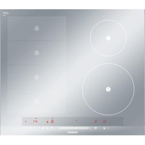 Siemens EH679MN27E 60cm Four Zone Induction Hob With FlexInduction Silver