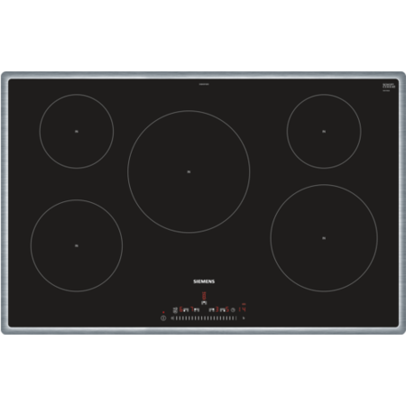 Siemens EH845FVB1E iQ100 80cm Induction Hob With Touch Slider Controls - Black