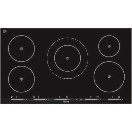 siemens eh975sk11e iq500 90cm touch control induction electric hob in stainless steel. Black Bedroom Furniture Sets. Home Design Ideas