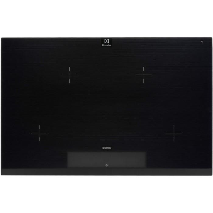 electrolux ehl8740fog four zone induction hob in black. Black Bedroom Furniture Sets. Home Design Ideas