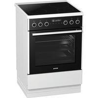 Gorenje EI647A21W2 496936 60cm Wide Electric Cooker With Multifunction Oven And Induction Hob White