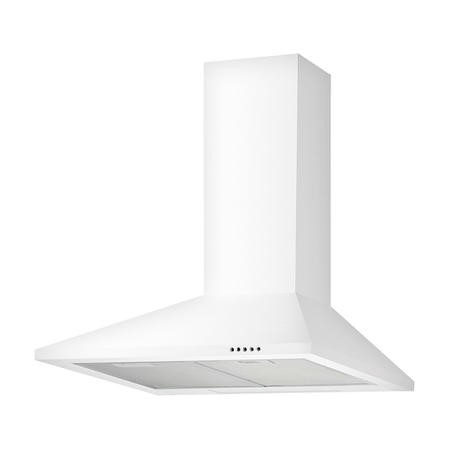 electriQ 60cm Traditional White Chimney Cooker Hood Kitchen Extractor - 5 Year Warranty