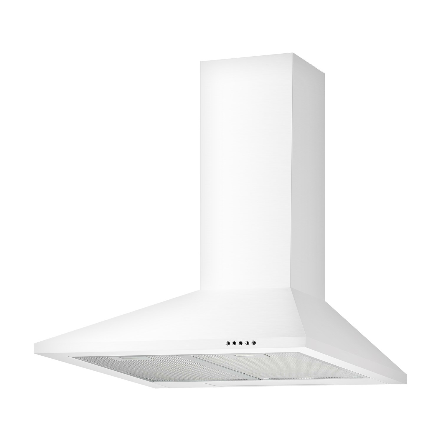 ElectriQ 60cm Traditional White Chimney Cooker Hood Kitchen Extractor   5  Year Warranty
