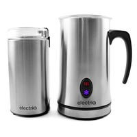 electrIQ Coffee Grinder and Milk Frother