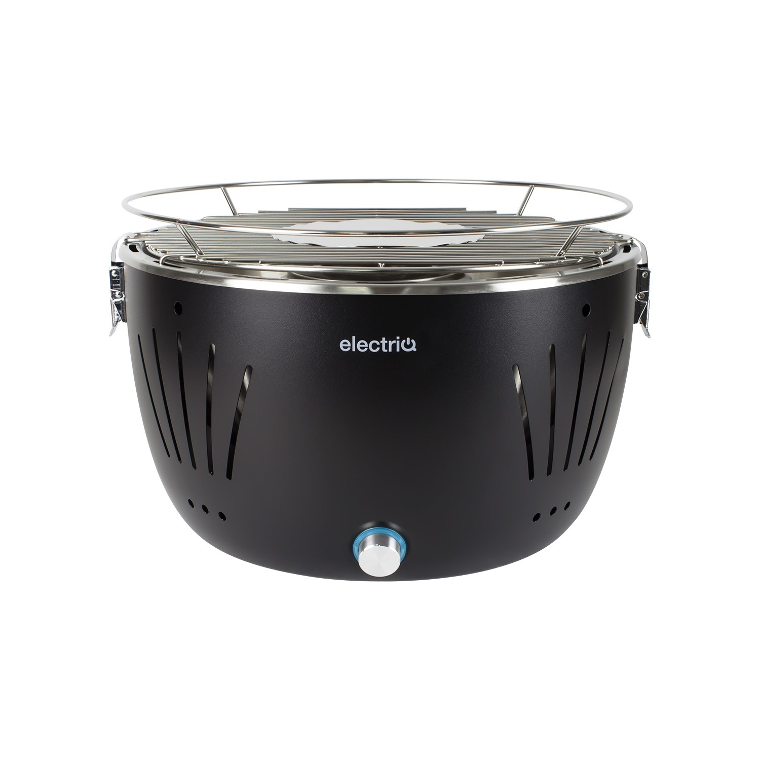 Portable Outdoor Charcoal BBQ Grill with Fan for fast heat ...