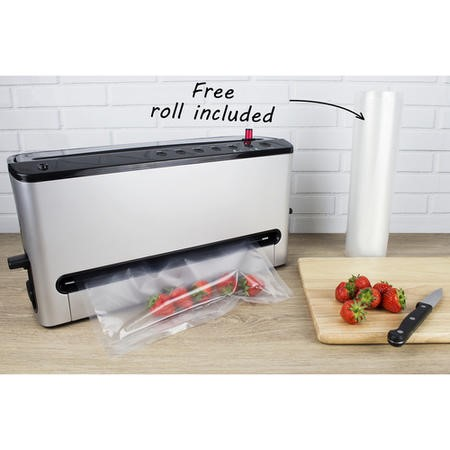 GRADE A1 - electriQ Food Saver Vacuum Sealing Machine