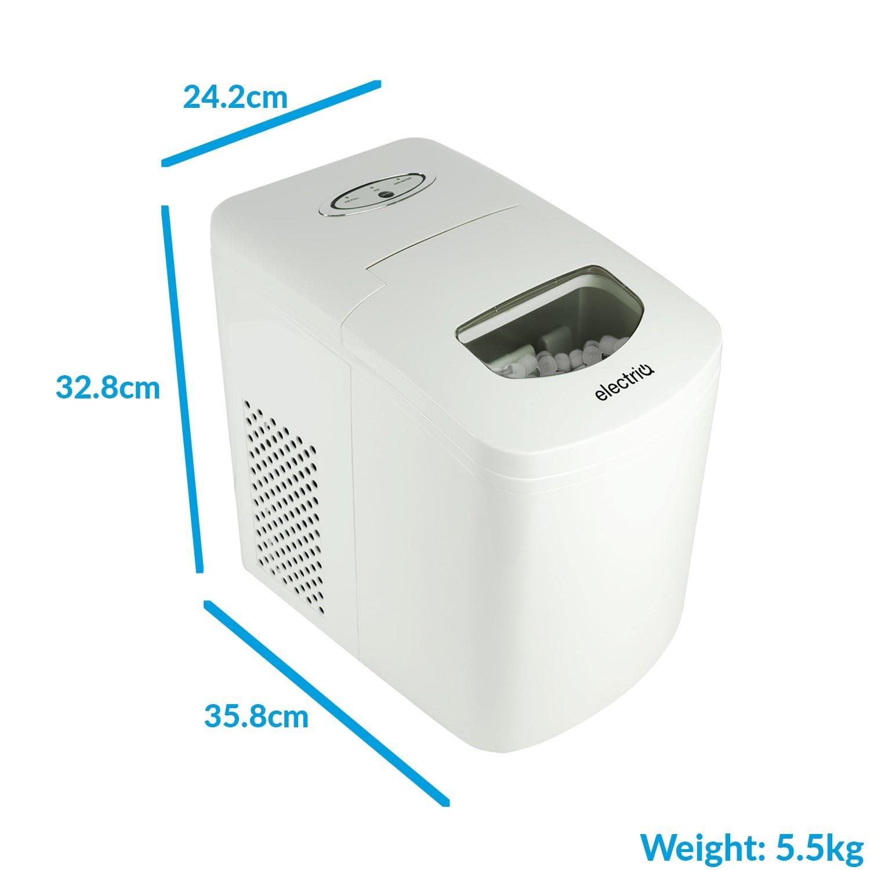 Electriq Auto Ice Machine Portable Counter Top Ball Cube