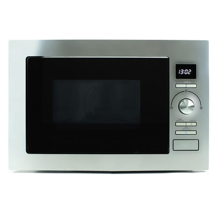 electriQ 25L Frameless Built-in digital Combination Microwave in Stainless Steel