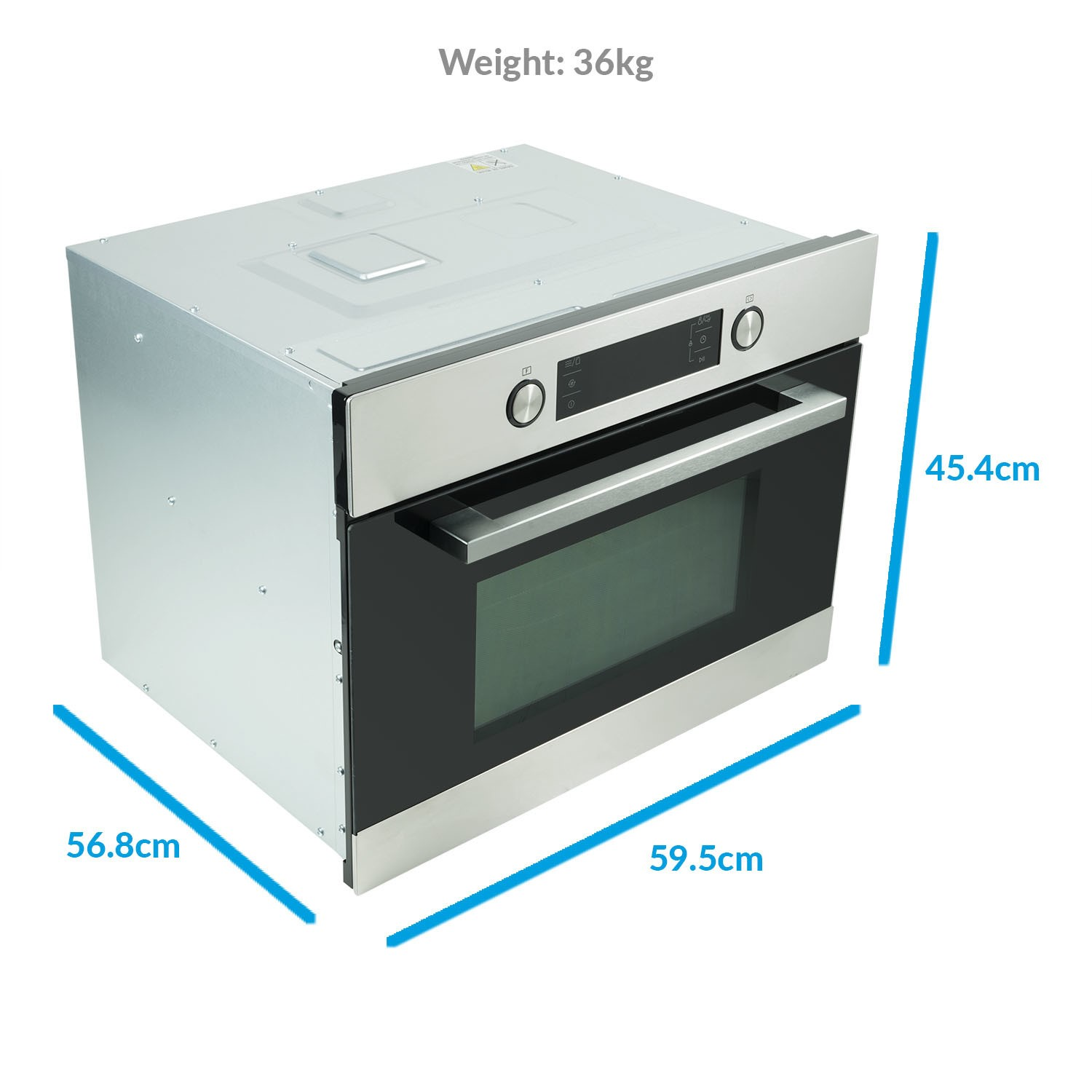 Built In Combi Microwave Oven And Grill: ElectriQ 44L Built-In Combination Microwave Oven And Grill