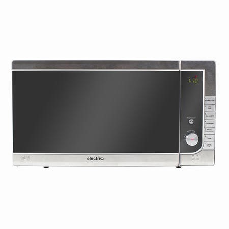 electriQ 40L 1000W Freestanding Digital Combination Microwave in Stainless Steel