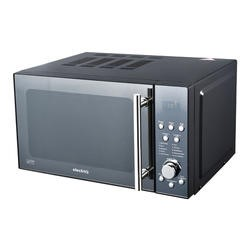 ElectriQ 20L Freestanding Digital 800w Flatbed Microwave Oven Black
